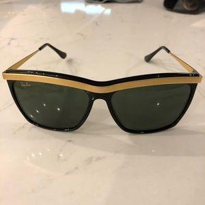 Vintage Ray Ban W0741 G15 Olympian III Sunglasses
